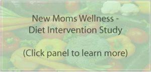 new moms diet intervention breast cancer