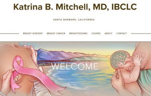 Breast health site of Dr Katrina Mitchell
