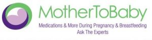 Mother to baby Rx drug info for breastfeeding moms